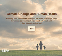 Climate Change and Human Health quiz