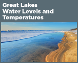 Great Lakes Water Levels and Temperatures