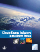 Cover of Climate Change Indicators in the United States, 2010