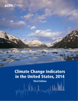 Cover of Climate Change Indicators in the United States, 2014